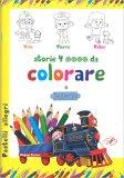 Storie 4 Ruote da Colorare a Belleville - Libro