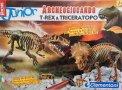 T-rex e Triceratopo
