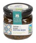 Tartar di Alghe e Olive Nere