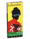 Tavoletta di Cioccolato Tanzania 75% - Chocolate Bar Labooko