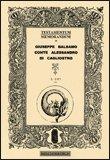 Testamentum Memorandum di Giuseppe Balsamo Conte Alessandro di Cagliostro