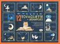 Tovagliette + Segnaposto - Il Gatto e la Luna