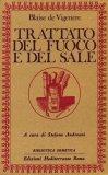 Trattato del Fuoco e del Sale - Libro