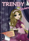 Trendy Model Stickers - Fashion Style  - Libro