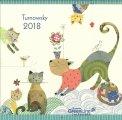 Turnowsky - Green Line Calendar - Calendario 2018