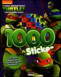 Turtles - 1000 Stickers - Libro