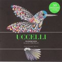 Uccelli - Colouring Book - Black Premium - Libro