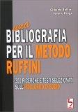 Una Bibliografia per il Metodo Ruffini — Libro
