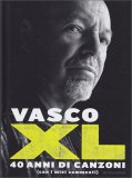 Vasco XL - 40 Anni di Canzoni - Libro