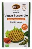 Vegan Burger Bio - Piselli Precotti
