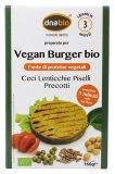 Preparato per Vegan Burger Bio - Ceci, Lenticchie, Piselli
