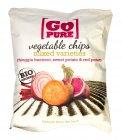 Chips di Barbabietola di Chioggia, Patate Dolci e Patate Rosse - Vegetable Chips