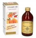VITAMIN 100 - LIQUIDO ANALCOLICO Integratore alimentare contenente il 100% NRV di tutte le vitamine