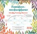 Weekly Family Planner - Foglie - Calendario Familiare 2018