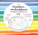 Weekly Family Planner - Righe - Calendario Familiare 2018