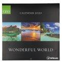 Wonderful World - Calendario 2020 — Calendario