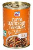 Zuppa Lenticchie e Verdure