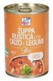 Zuppa Rustica con Orzo e Legumi