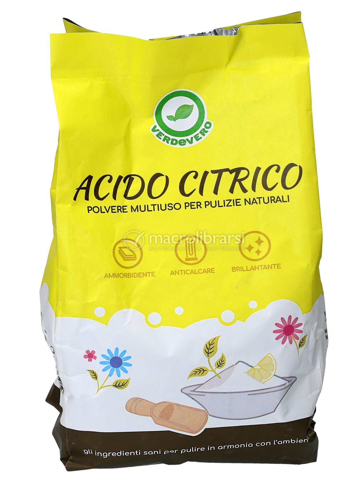 Acido Citrico Dosi Alimentari acido citrico - busta