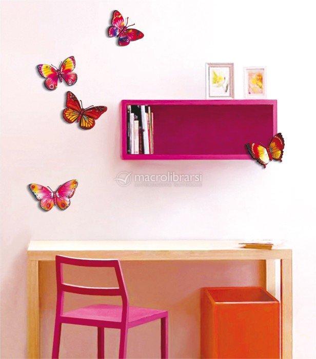 Adesivi decorativi farfalle 2631 legler for Adesivi decorativi