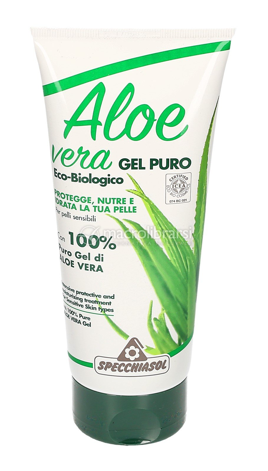 aloe vera gel puro specchiasol. Black Bedroom Furniture Sets. Home Design Ideas