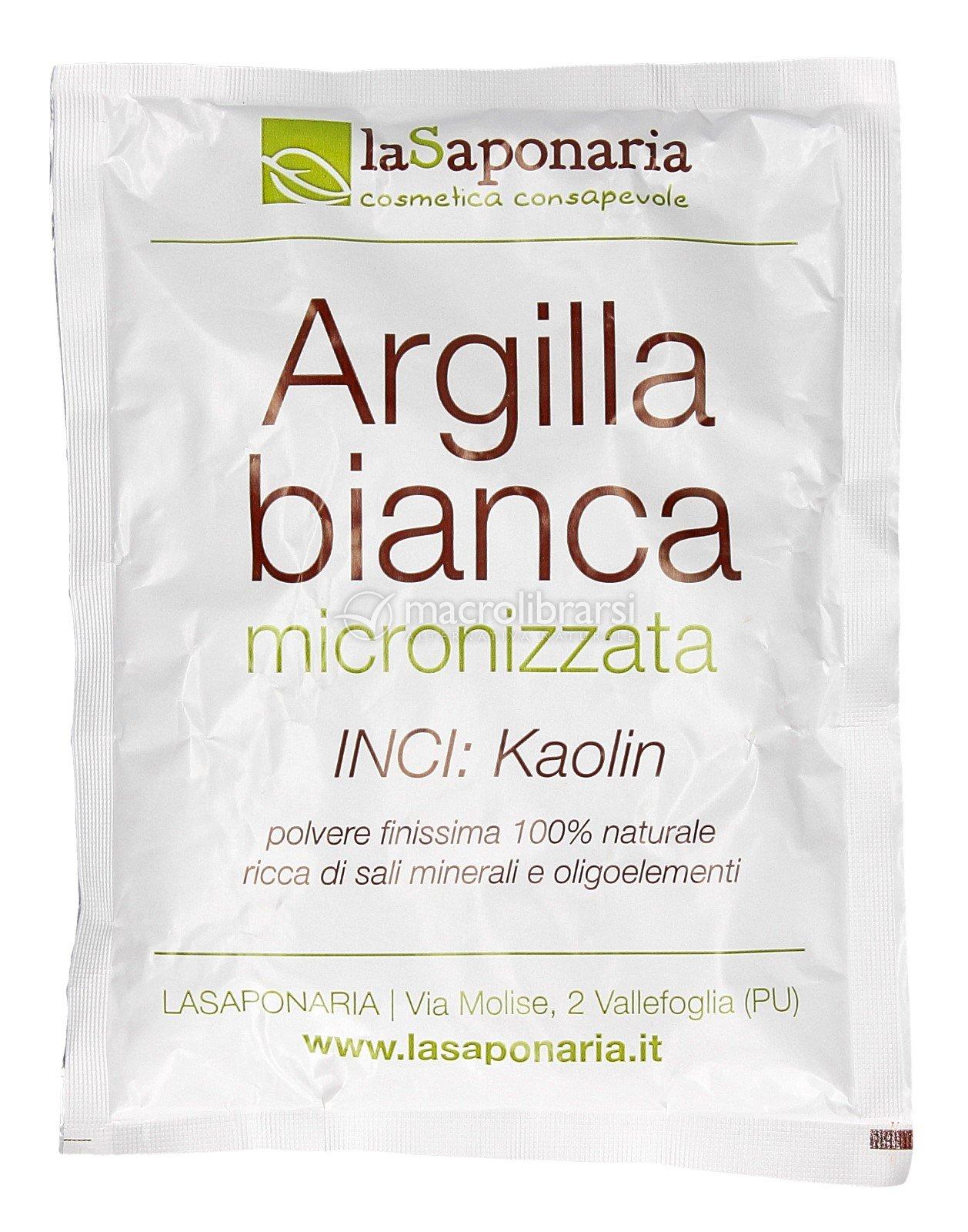 Argilla Bianca Micronizzata Di La Saponaria Macrolibrarsi It