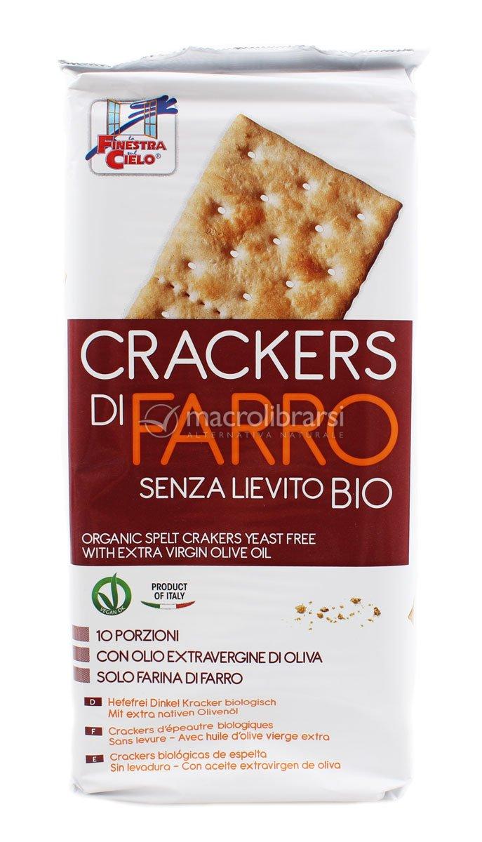 Crackers Senza Lievito Crackers di Farro Bio Senza