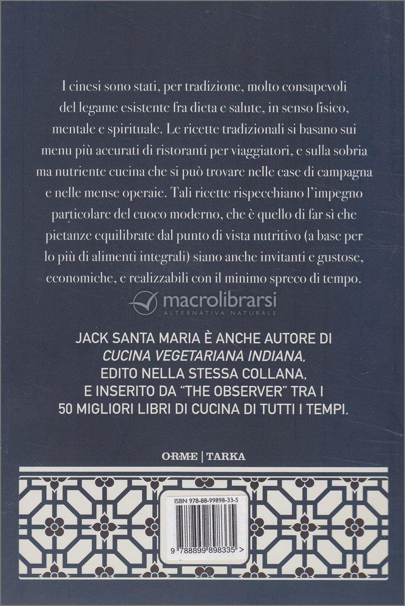 cucina vegetariana cinese - jack santa maria - Libri Cucina Vegetariana