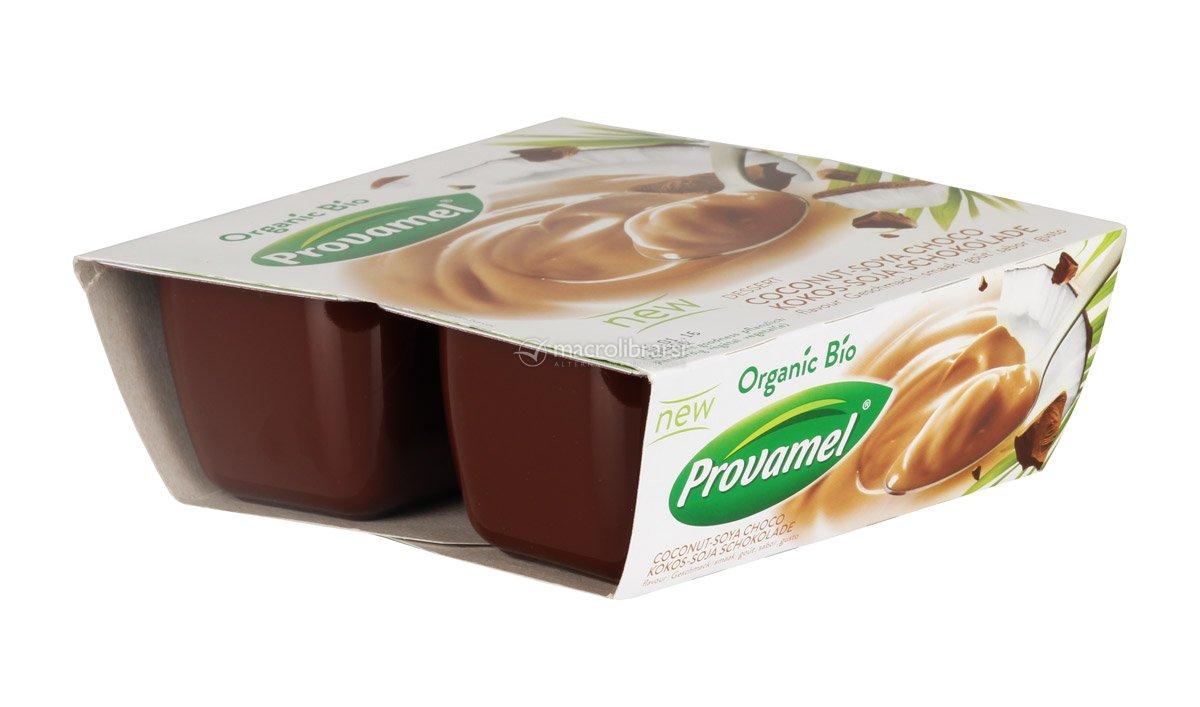 Budino con Soia, Cioccolato e Cocco - Dessert Coconut ...