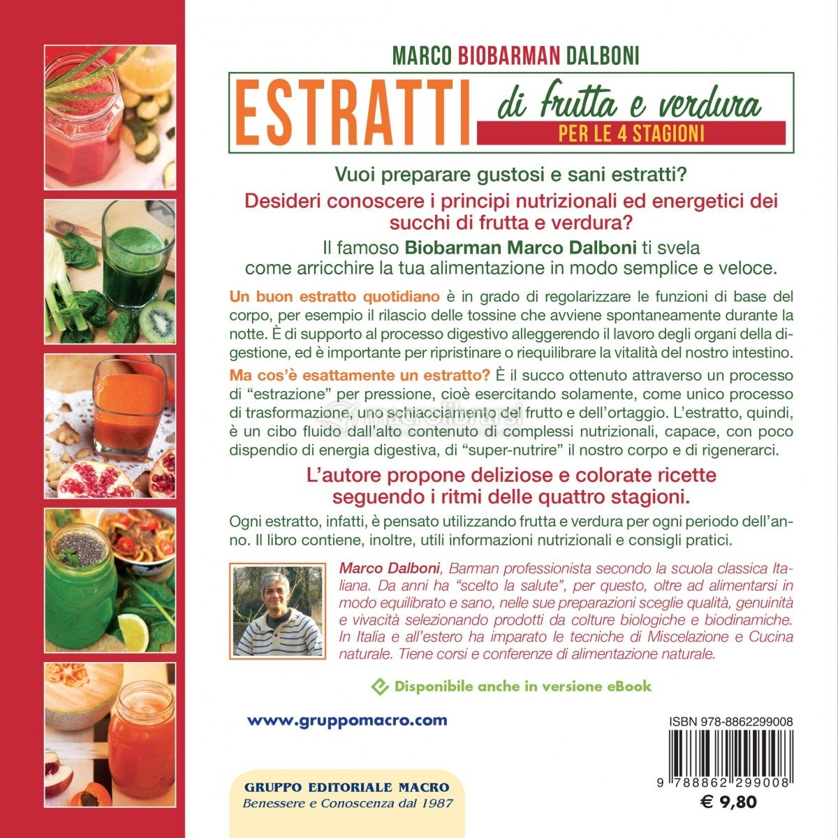 Estratti di frutta e verdura per le 4 stagioni marco dalboni - Immagine di frutta e verdura ...