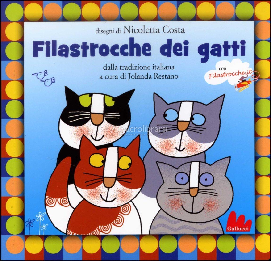 Filastrocche Dei Gatti Libro Cd Libro Di Nicoletta Costa