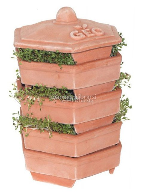 Germogliatore geo terradisiena 4 piani geo sementi e for Piani di casa di balla di fieno