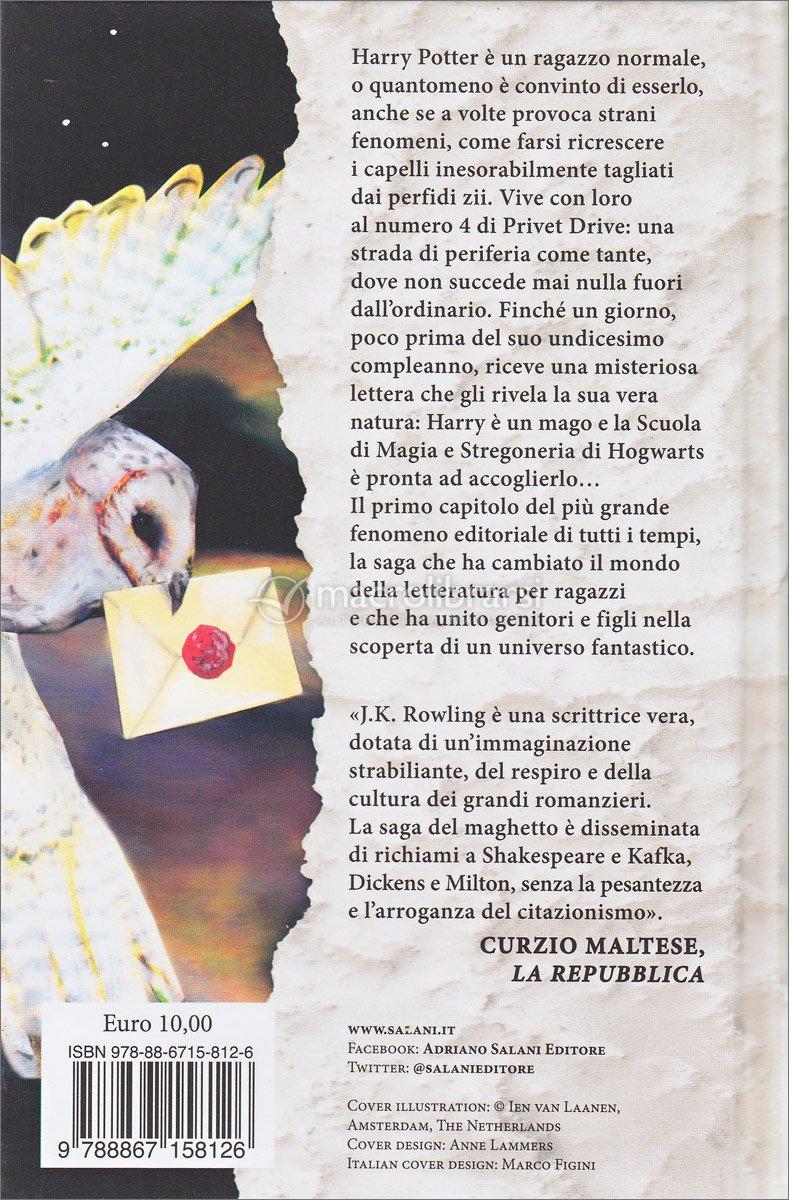 harry potter pietra filosofale libro pdf
