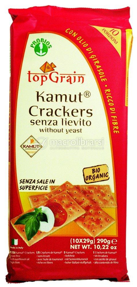 Crackers Senza Lievito 15 Kamut Crackers Senza