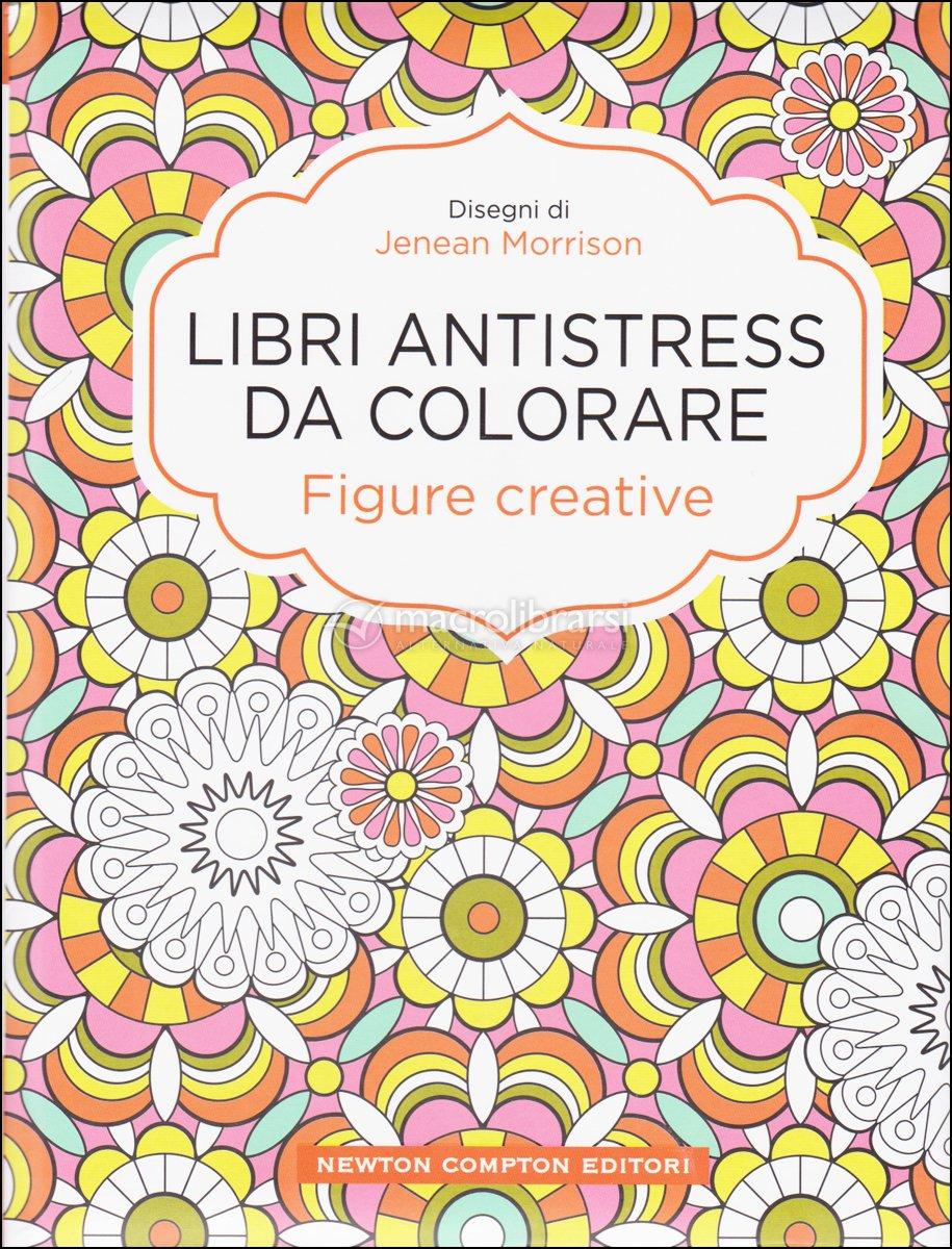 Libri antistress da colorare figure creative jenean - Libro da colorare elefante libro ...
