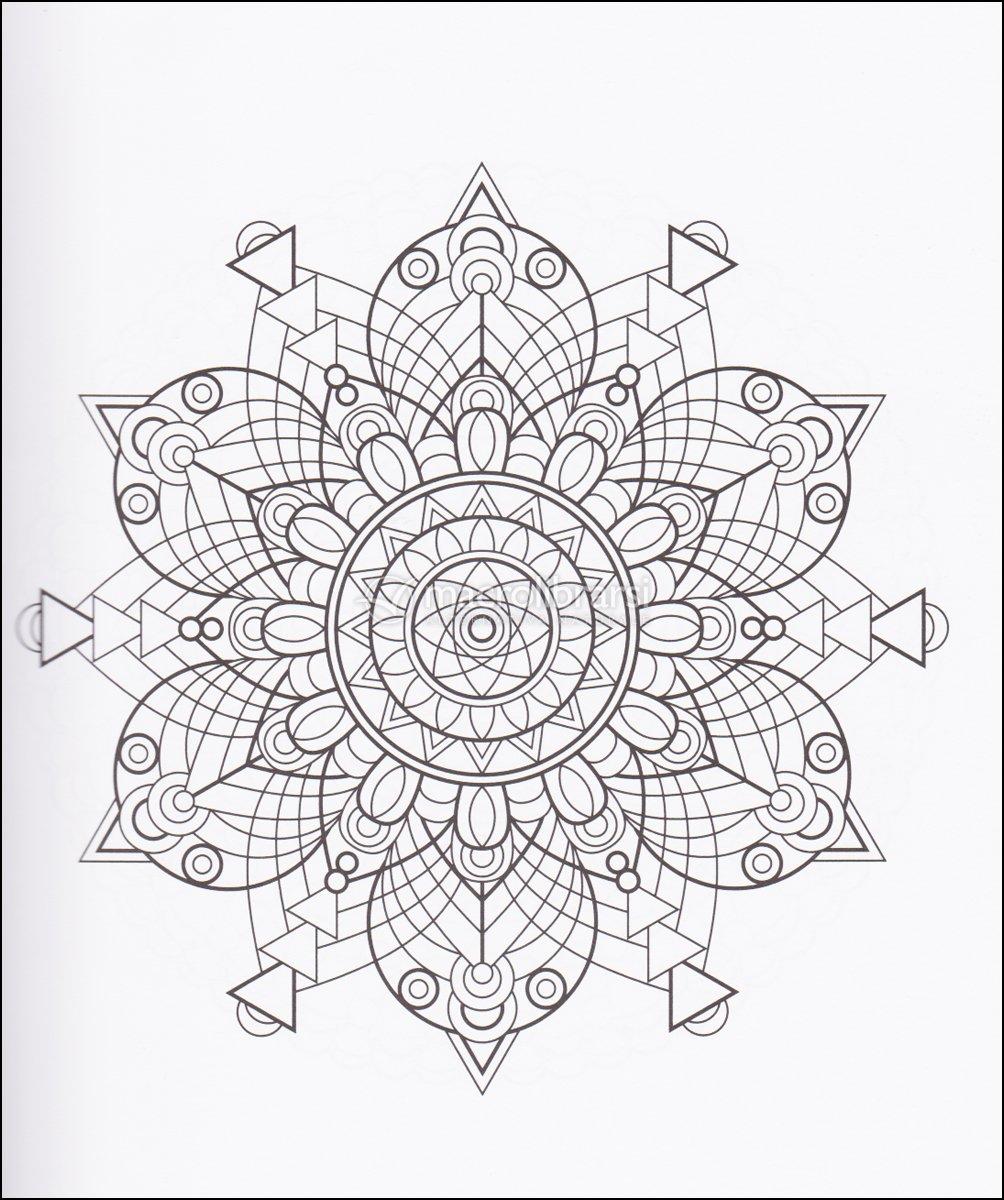 Libri antistress da colorare mandala prodigiosi libro for Disegni da colorare per adulti paesaggi