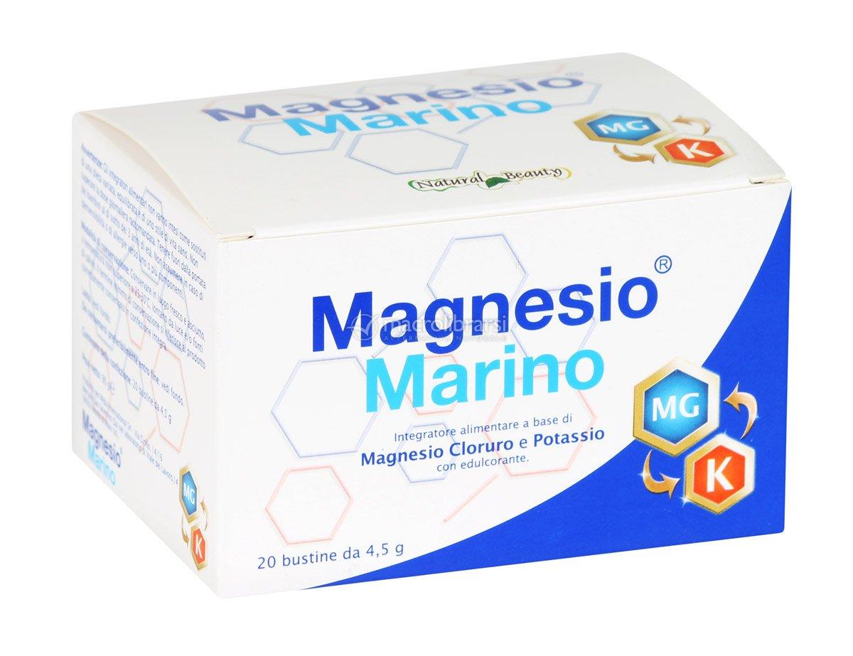 Magnesio Cloruro e Potassio - Bustine - Magnesio Marino