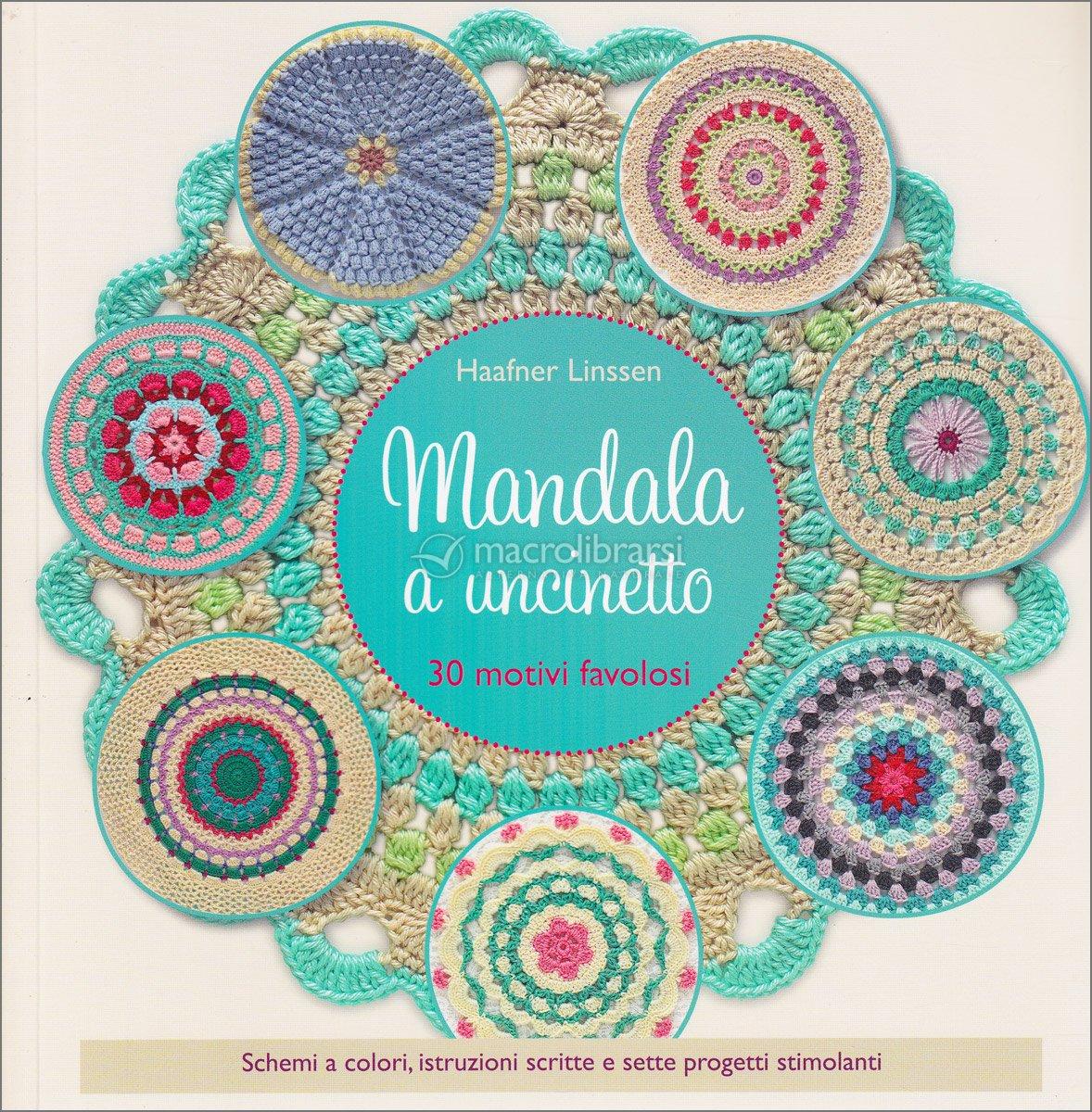 Mandala A Uncinetto Libro Di Haafner Linseen