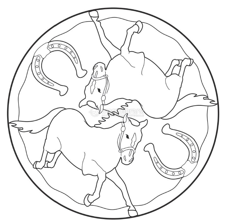 I mandala degli animali della fattoria for Fattoria immagini da colorare