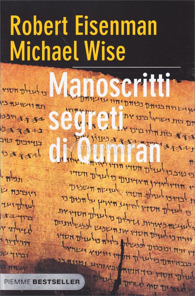 Immagini Di Natale Qumran.Manoscritti Segreti Di Qumran Libro