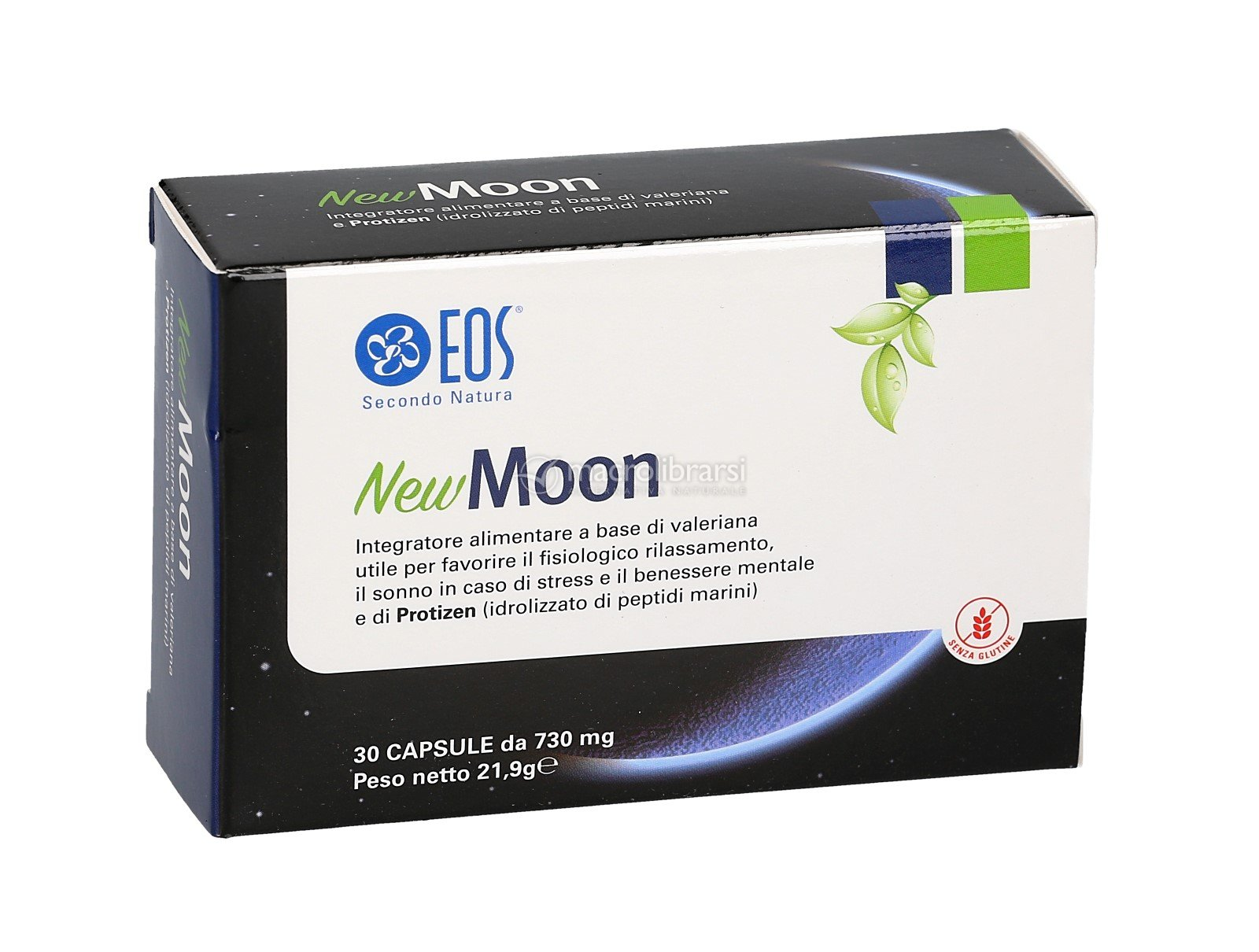 New moon integratore di valeriana e protizen eos secondo natura