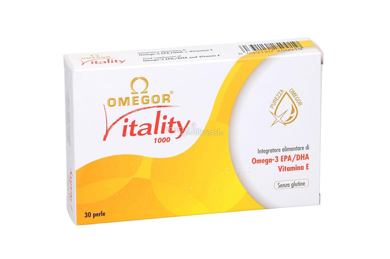 Omegor® Vitality 1000 - 30 perle da 1410 mg
