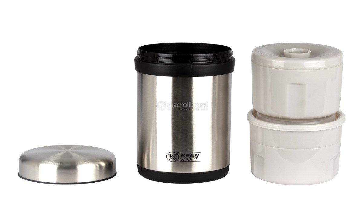 Portavivande contenitore termico in acciaio inox keen for Portavivande termico