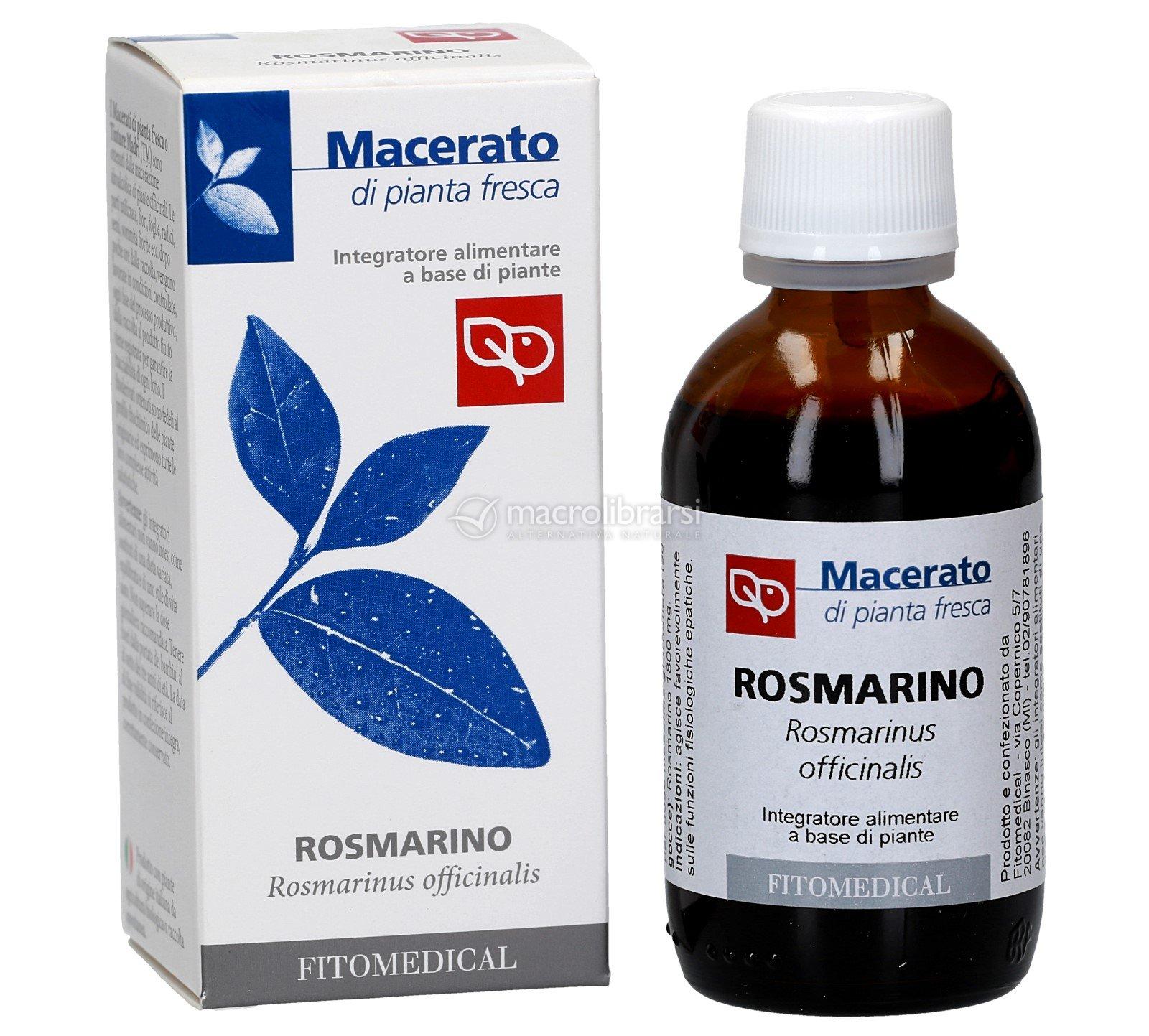Rosmarino Secco Alla Base rosmarino - macerato di pianta fresca