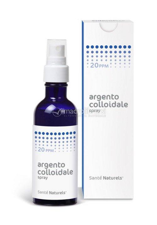 argento colloidale spray  Argento Colloidale Spray - 20 ppm di Sante Naturels