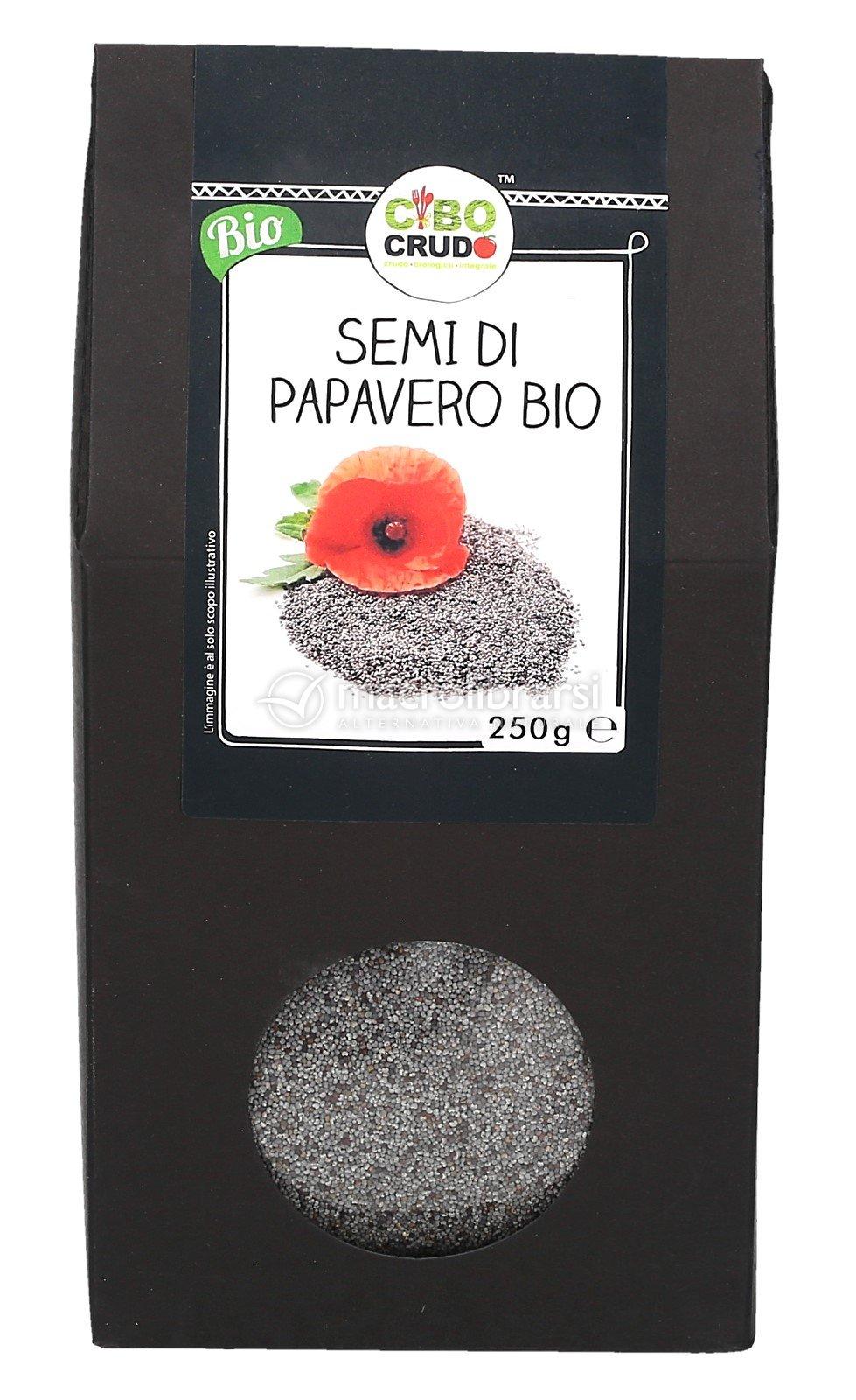 Semi di Papavero Bio - Cibo Crudo