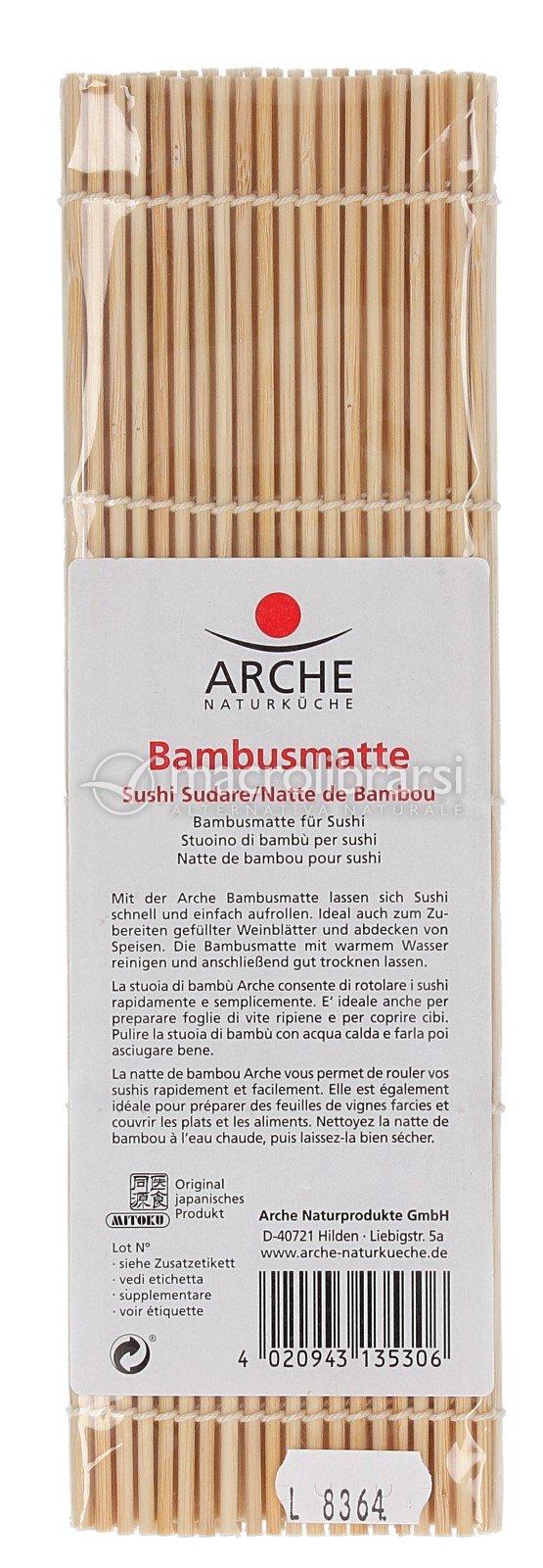 Stuoino Di Bambu Per Sushi Bambusmatte Arche Naturkuche