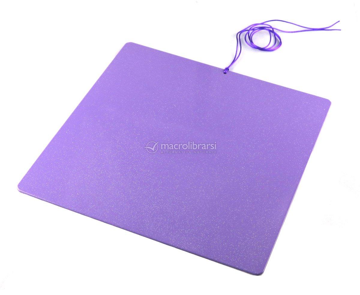 Piastre Di Tesla Funzionano sunny - tesla purple plate - piastra di tesla purpurea grande - quadrata