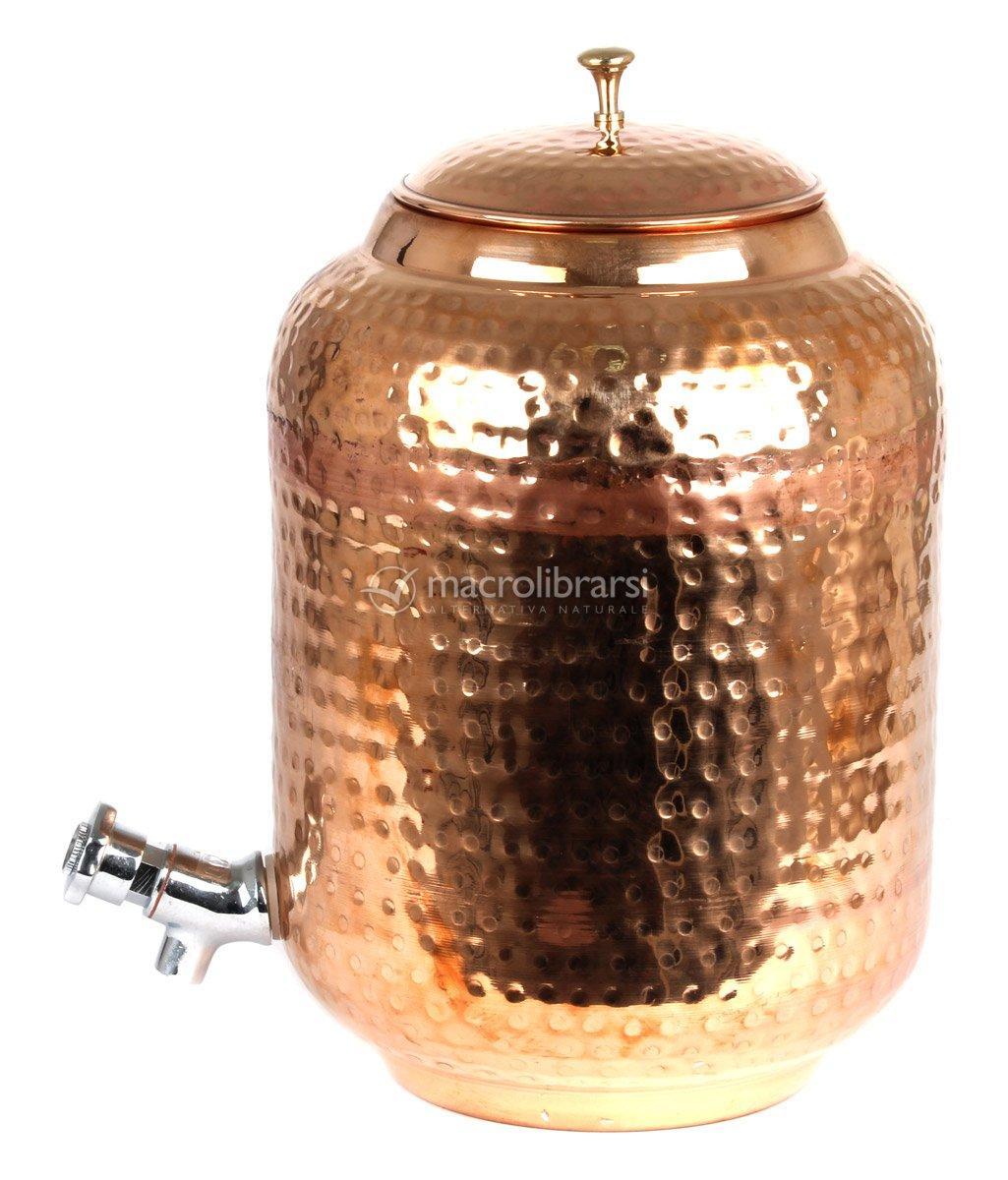 Tank in rame contenitore per lo stoccaggio dell 39 acqua for Serbatoio di acqua di rame