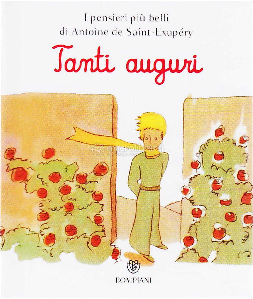 Molto Tanti Auguri - Microlibro il Piccolo Principe - Antoine De Saint  TV94